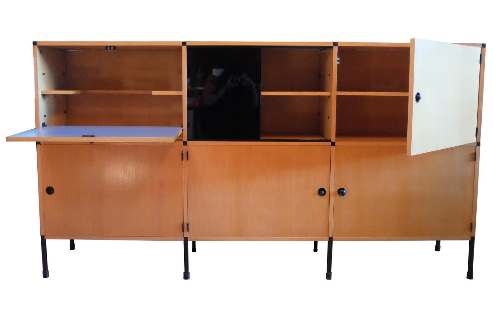 chicbaazar objets vintage 50 60 70 meubles modulable arp motte mortier guariche ditions. Black Bedroom Furniture Sets. Home Design Ideas