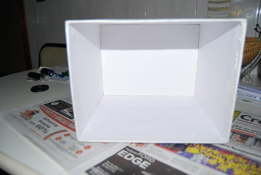 Como hacer una caja de carton para ficheros.