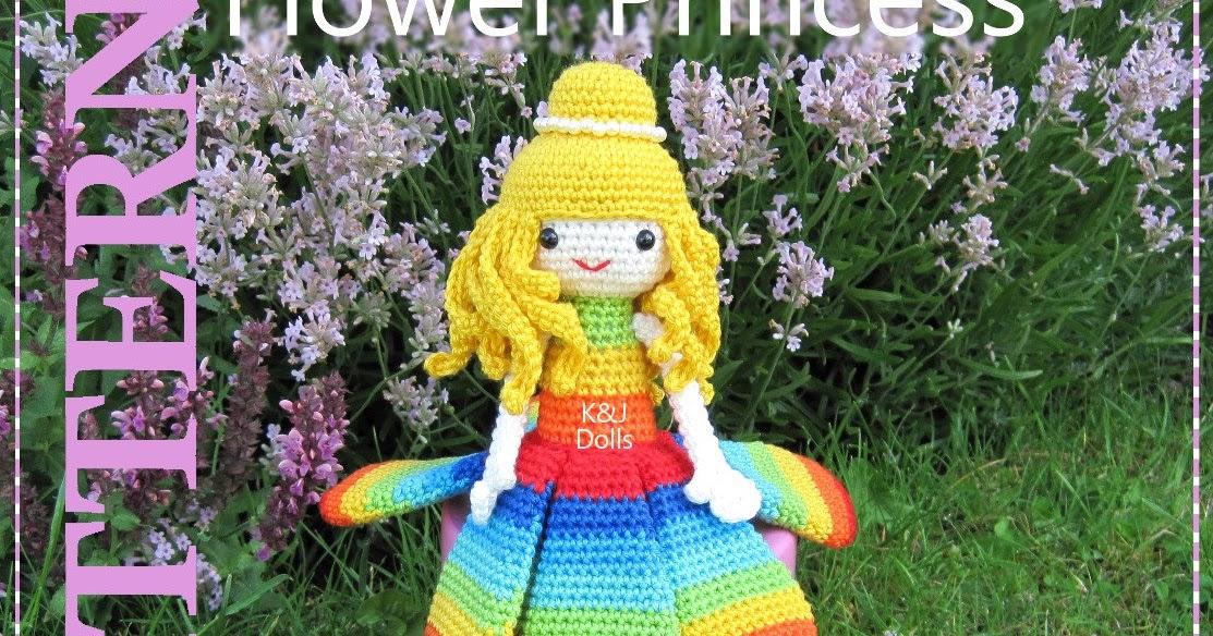 Flower Princess - Sayjai Amigurumi Crochet Patterns ~ K ...