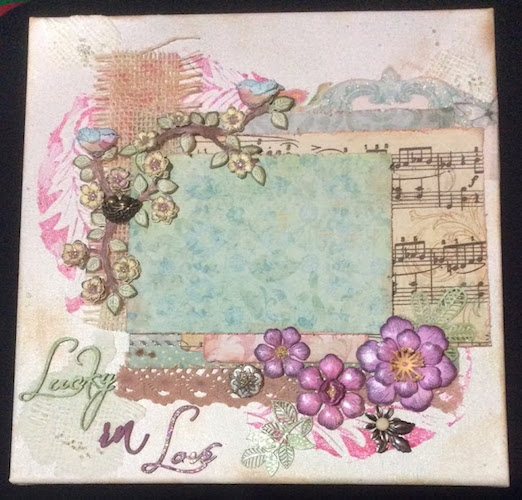 lucky in love canvas tlc paperpassions