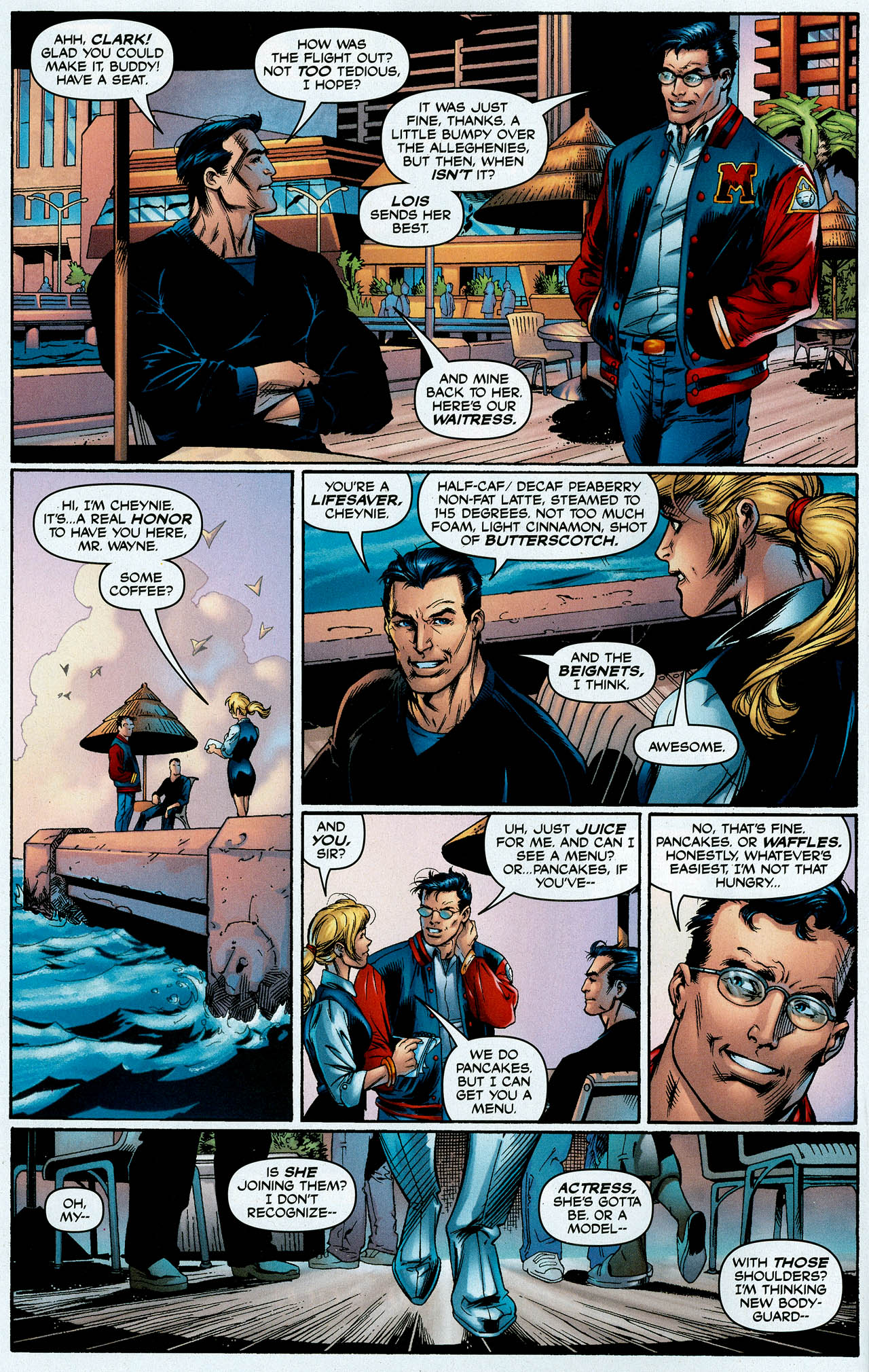 Read online Trinity (2008) comic -  Issue #1 - 7