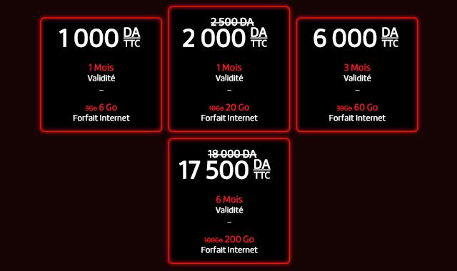 سارع للتعرف على عروض مودم جيزي الجيل الرابع 4G أنترنت حتى 200Go !