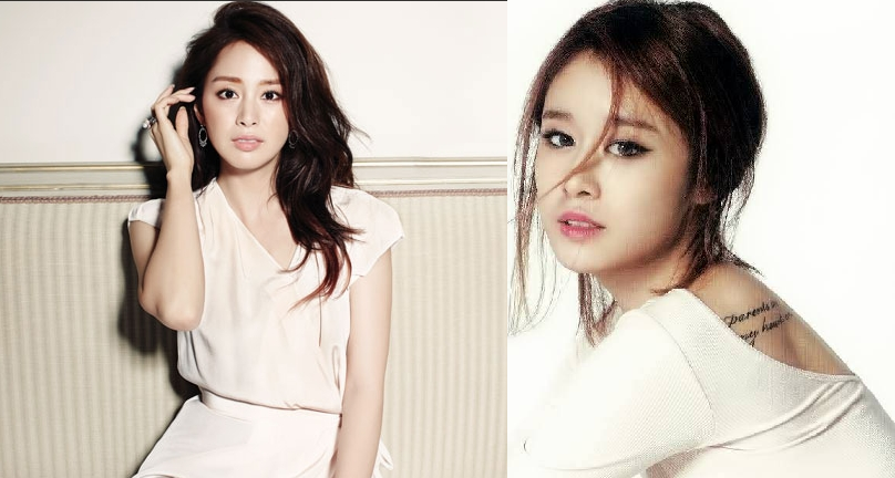 Kim Tae Hee and T-ara Jiyeon Look Alike