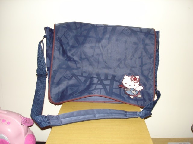 7be90d0a5 I also have a few smaller size messenger bags that I use. The one on the  left I bought at Hot Topic years ago. While I still love it and think it's  cute, ...