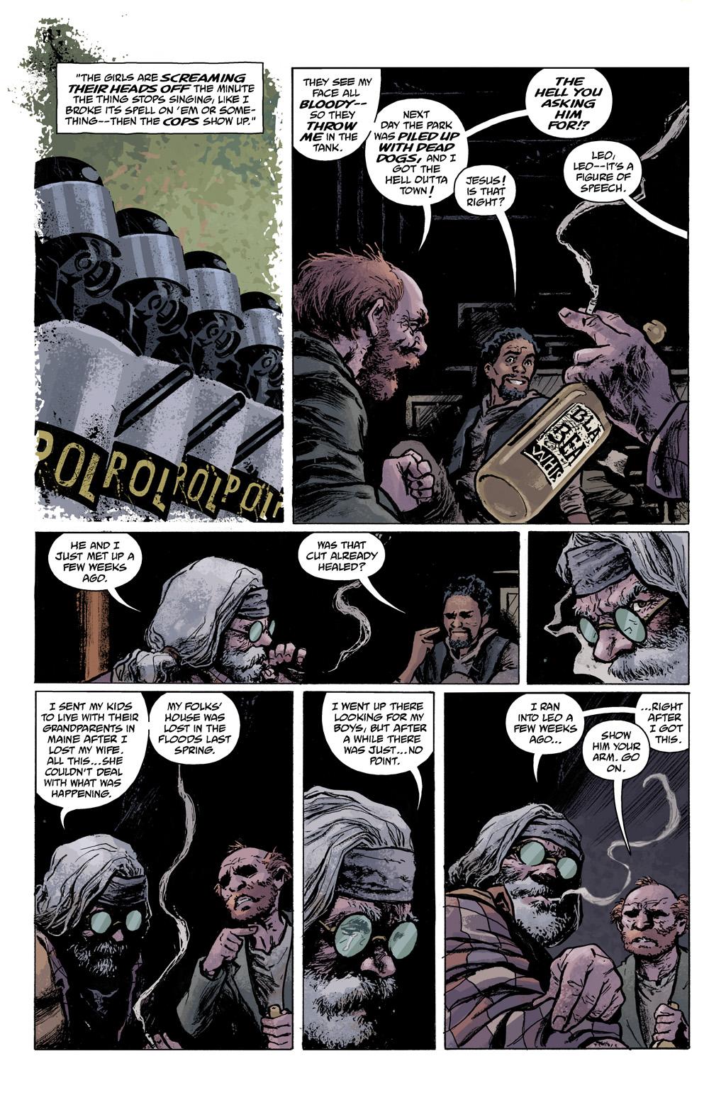 Read online Abe Sapien comic -  Issue #1 - 13