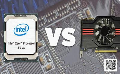 تعرف على الـ CPU  و الــ GPU  وماهو الفرق بين كلا من الـ CPU والــ GPU  ؟