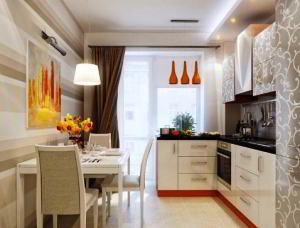 Desain Ruang Makan dan Dapur Jadi Satu