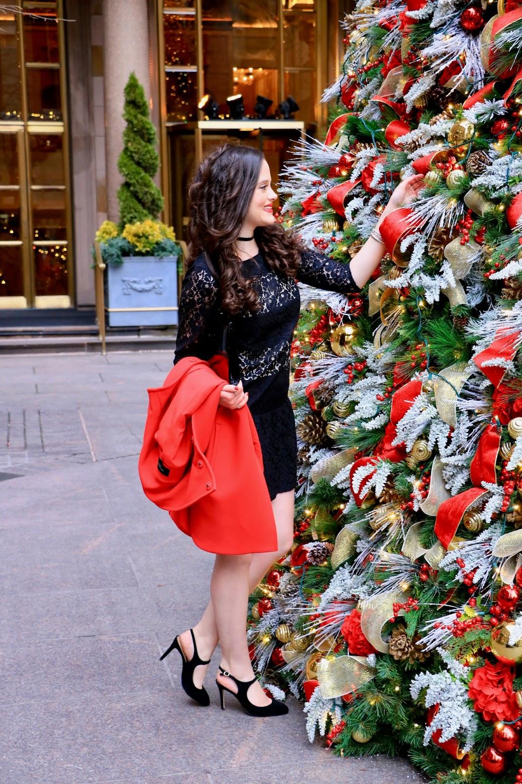 nyc christmas tree pics
