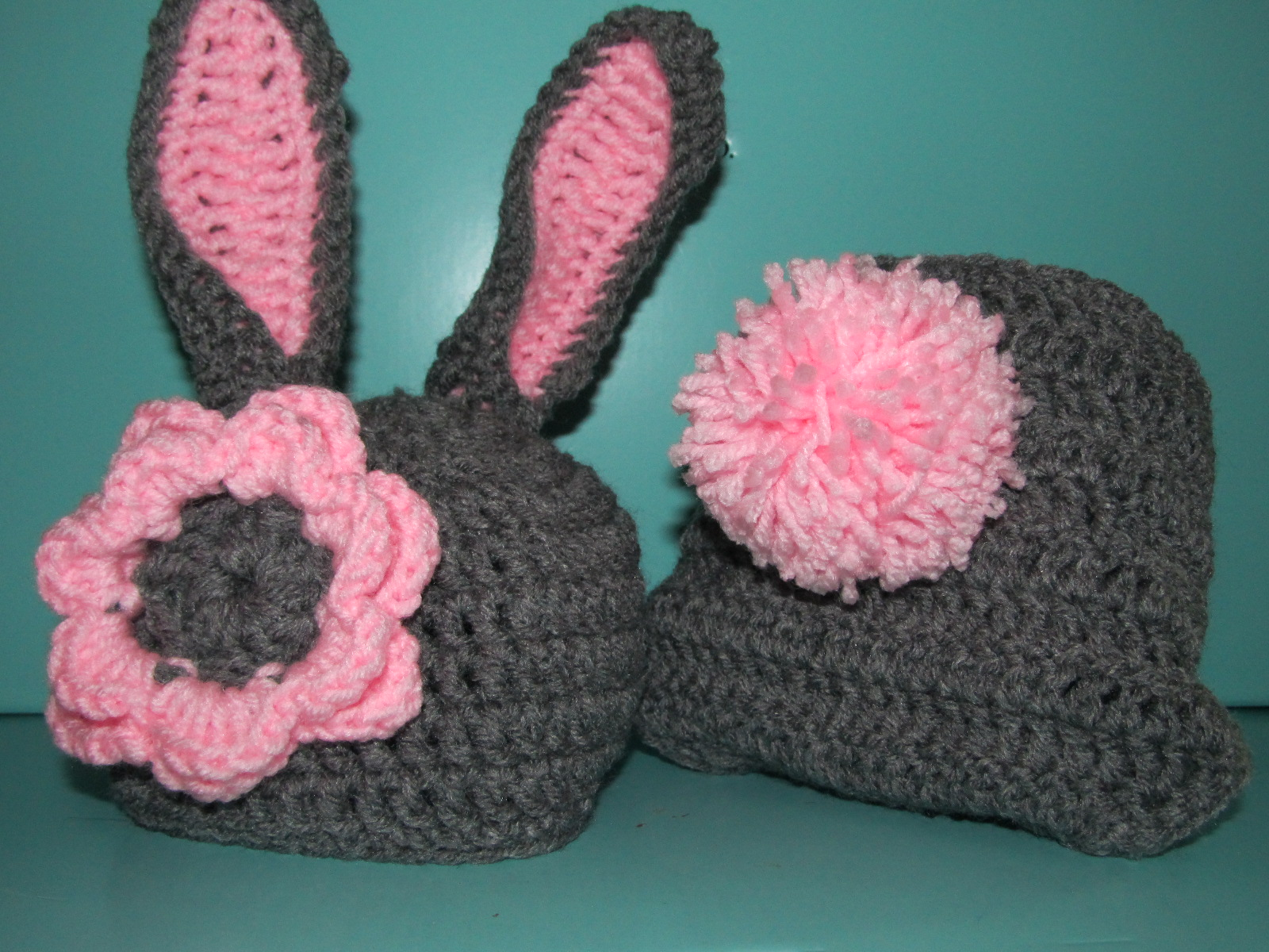 2b4ff0d0edd Simply Crochet and Other Crafts  Bunny Newborn Baby Prop
