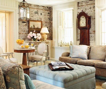 New home interior design storybook cottages for English living room ideas
