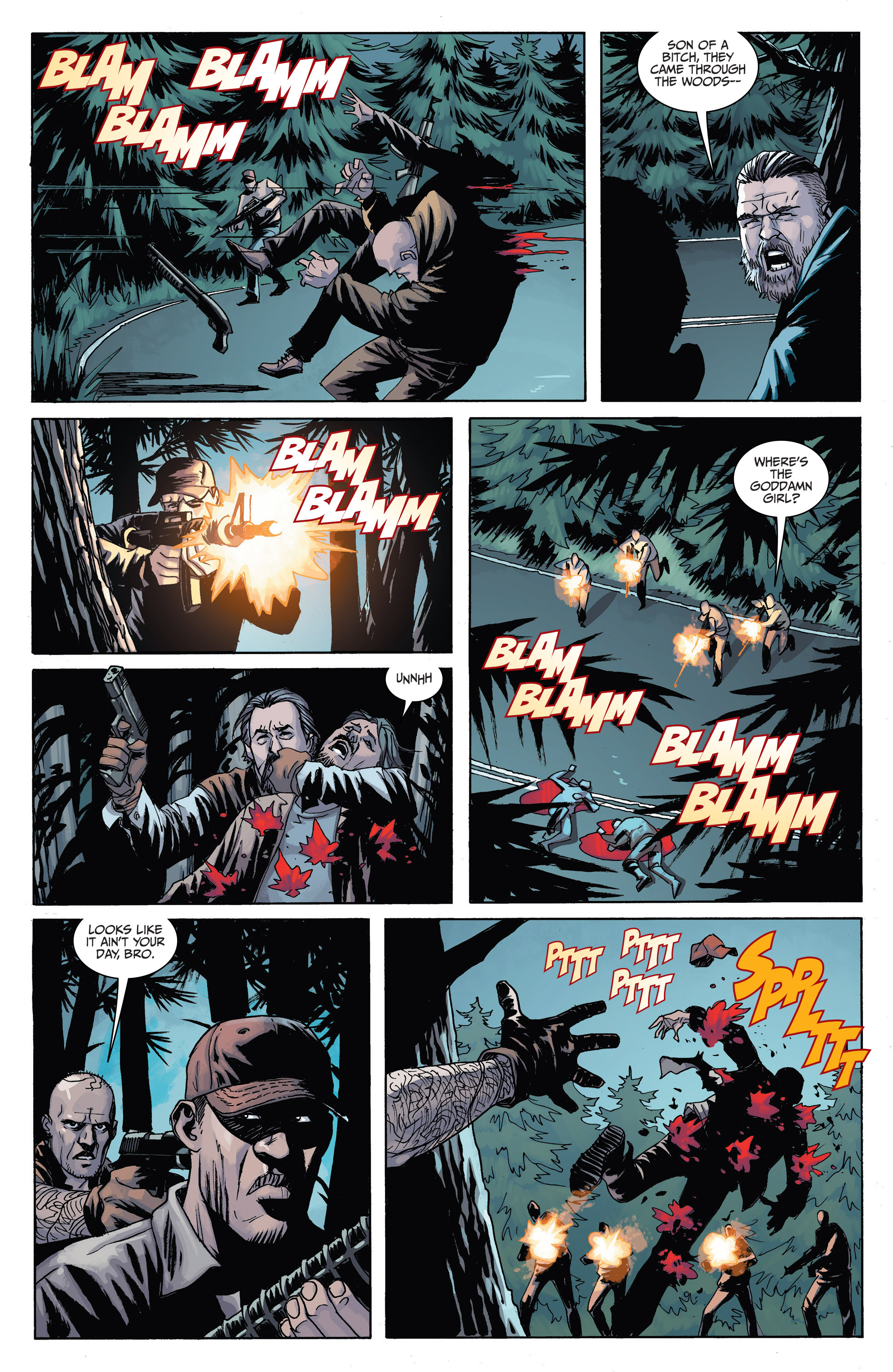 Read online Sons of Anarchy comic -  Issue #6 - 9