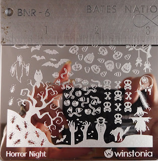 Winstonia Horror Night plate