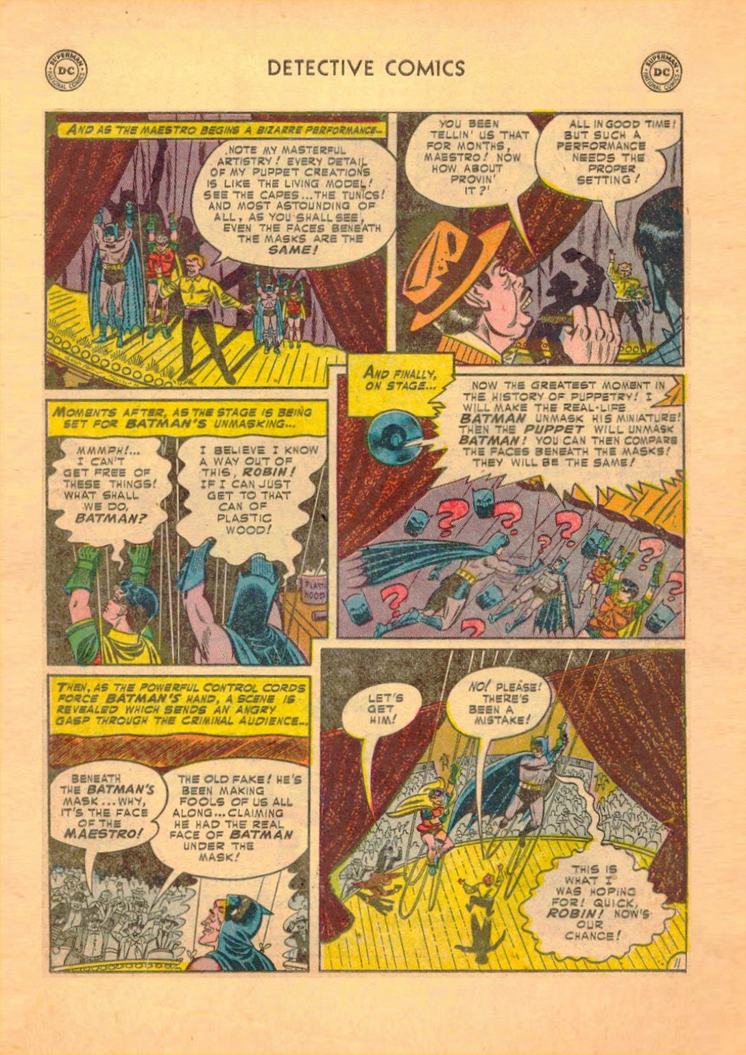 Read online Detective Comics (1937) comic -  Issue #182 - 12