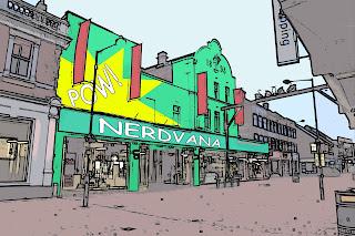nerdvana,waltham cross, art