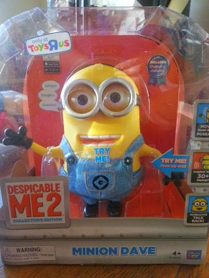 The Brick Castle Ultimate Minion Dave From Toys R Us