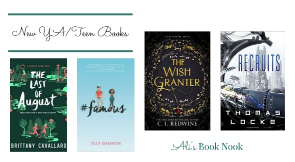 Hot New Teen/YA books