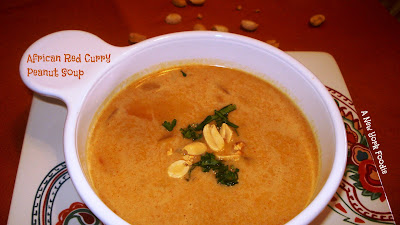 African Red Curry Peanut Soup