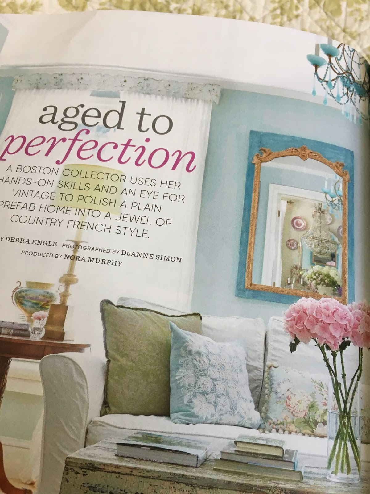 Maison Decor: My Country Home Magazine Feature