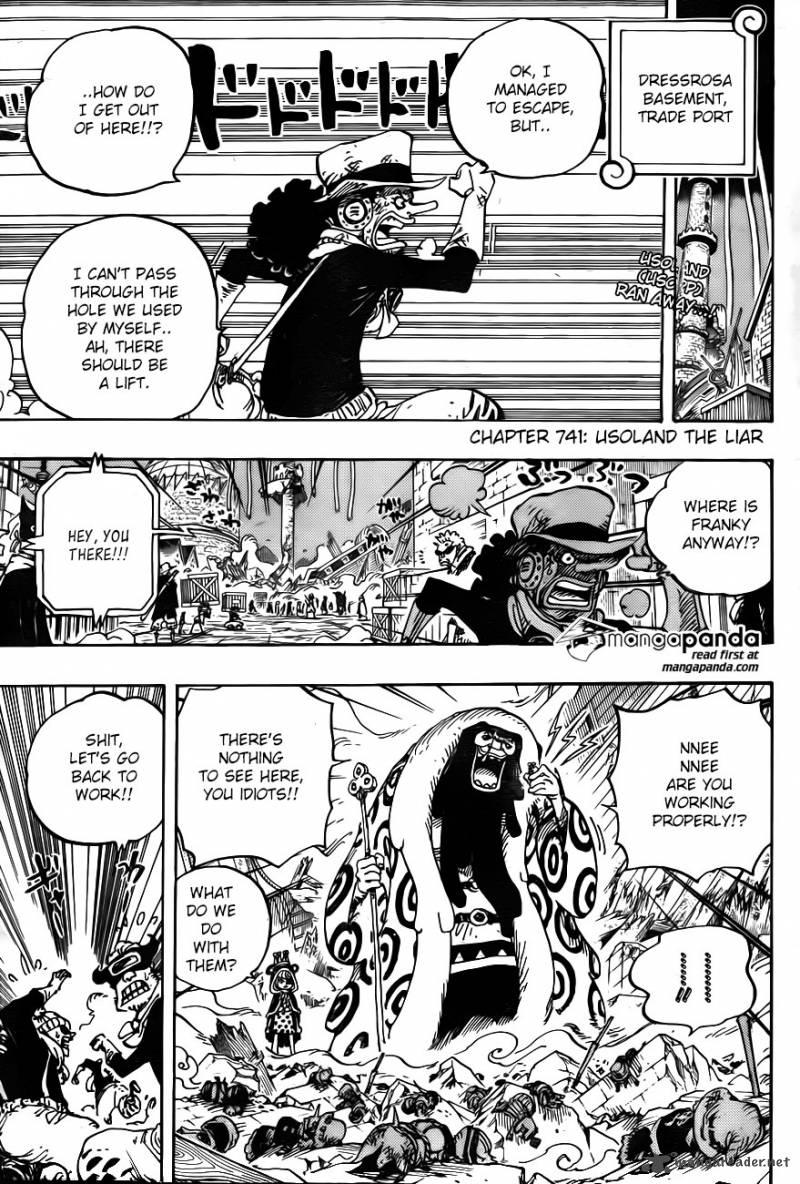 One Piece Ch 741: Usoland the liar