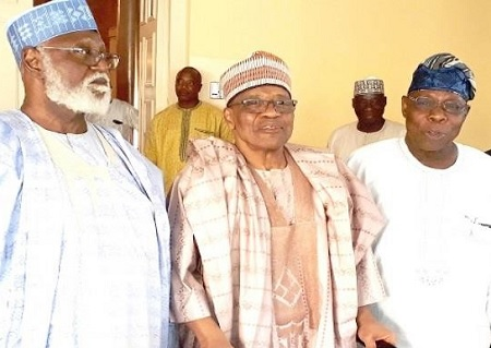 IBB, Obasanjo And Abdulsalami Secret Meeting In Minna