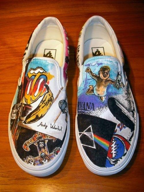 Bands Vans Shoes For Sale