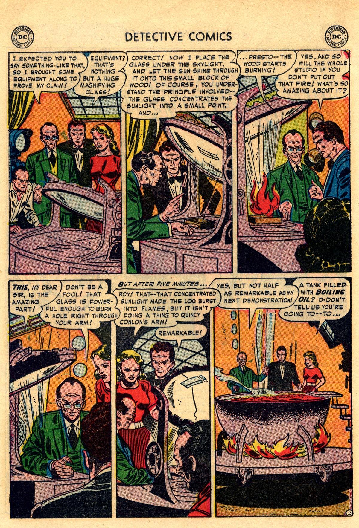 Read online Detective Comics (1937) comic -  Issue #203 - 18