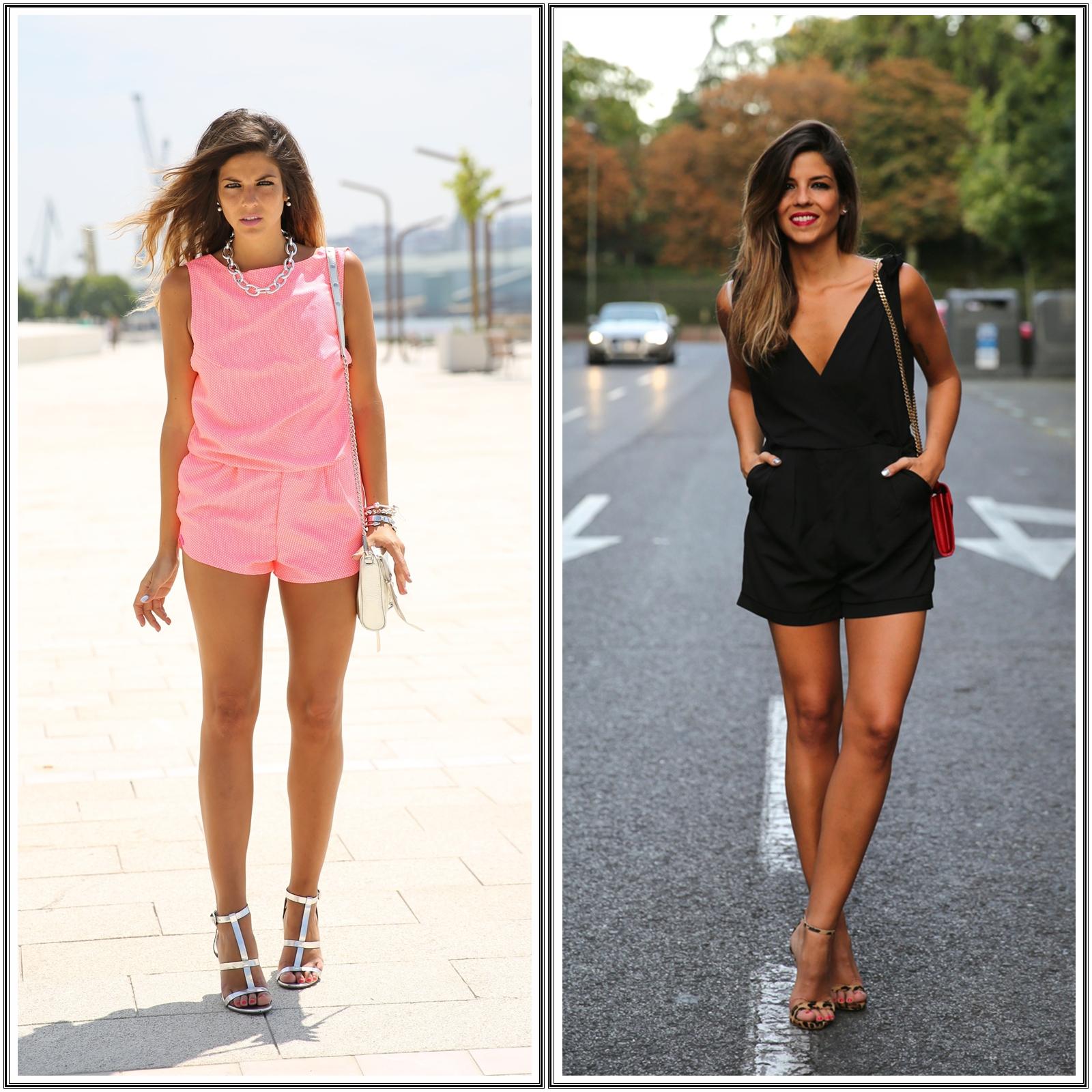 8f5e7ece1 Dois looks casuais chic, com macaquinho ou jardineira, com inspiração da  espanhola Natalia Cabezas do blogue www.trendytaste.com visite o meu  blogue: ...