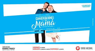 CONVERSACIONES CON MAMA (TEATRO)