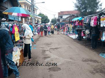 Pasar Kaget Desa Cilembu