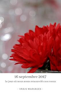 témoignage et organisation renouvellement de voeux blog mariage unjourmonprinceviendra26.com