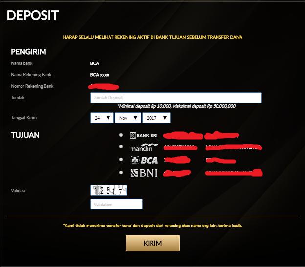 Panduan Deposit Pokerace99 Deposit Akun Judi Online