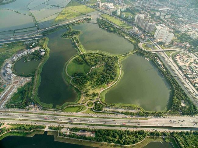 công viên yên sở gamuda city