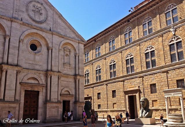Duomo y Palazzo Piccolomini Pienza