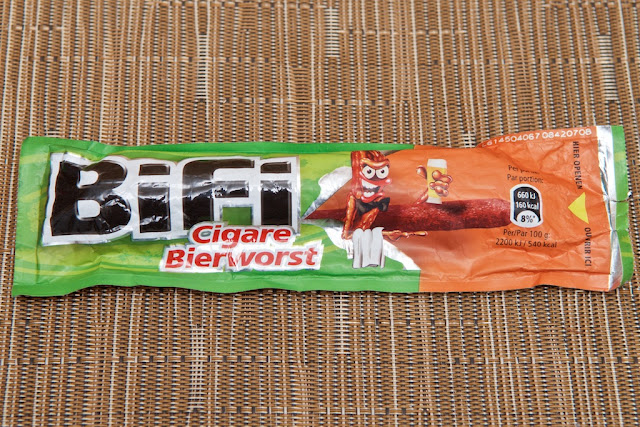 Bifi - Germany - Snack - Bifi Cigare - Salami - Pork - Sausage - Beef - Meat -