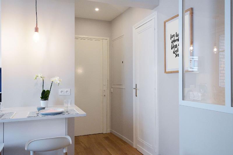 La trasformazione di un ordinario appartamento di 30 mq a for Arredamento entrata appartamento