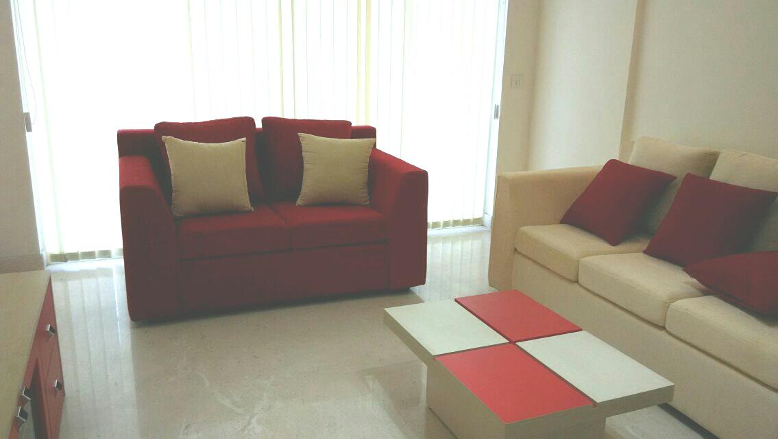 Fully Furnished 3bhk Flat On Rent In Purva Grandbay Marine Drive Kochi