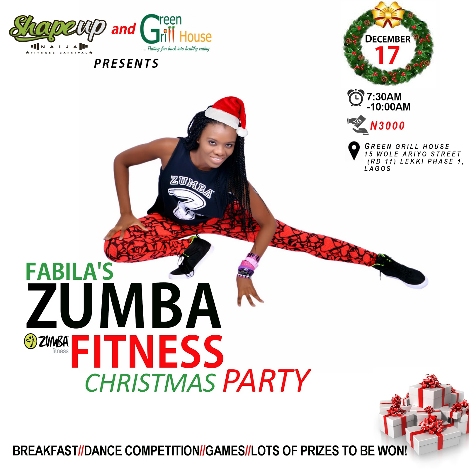 Fabila's Fitness Club: LET'S PARTY THIS WEEKEND