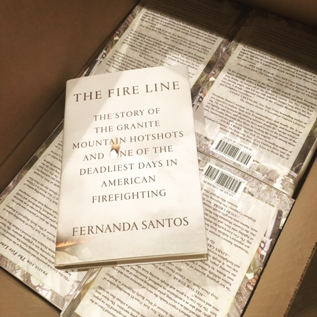 La Bloga Fernanda Santos Reads From Her New Book The Fire Line On
