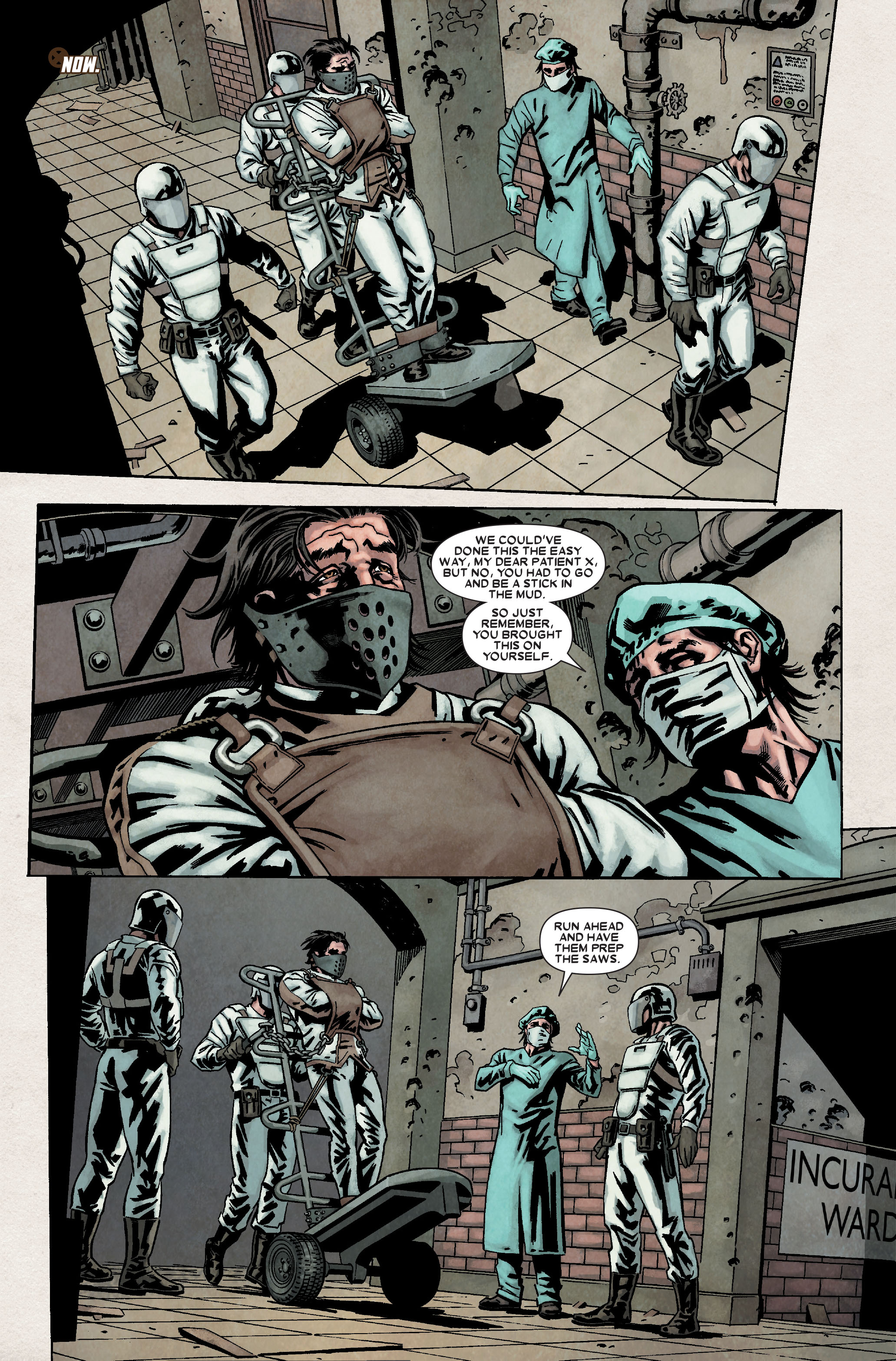 Read online Wolverine: Weapon X comic -  Issue #8 - 13