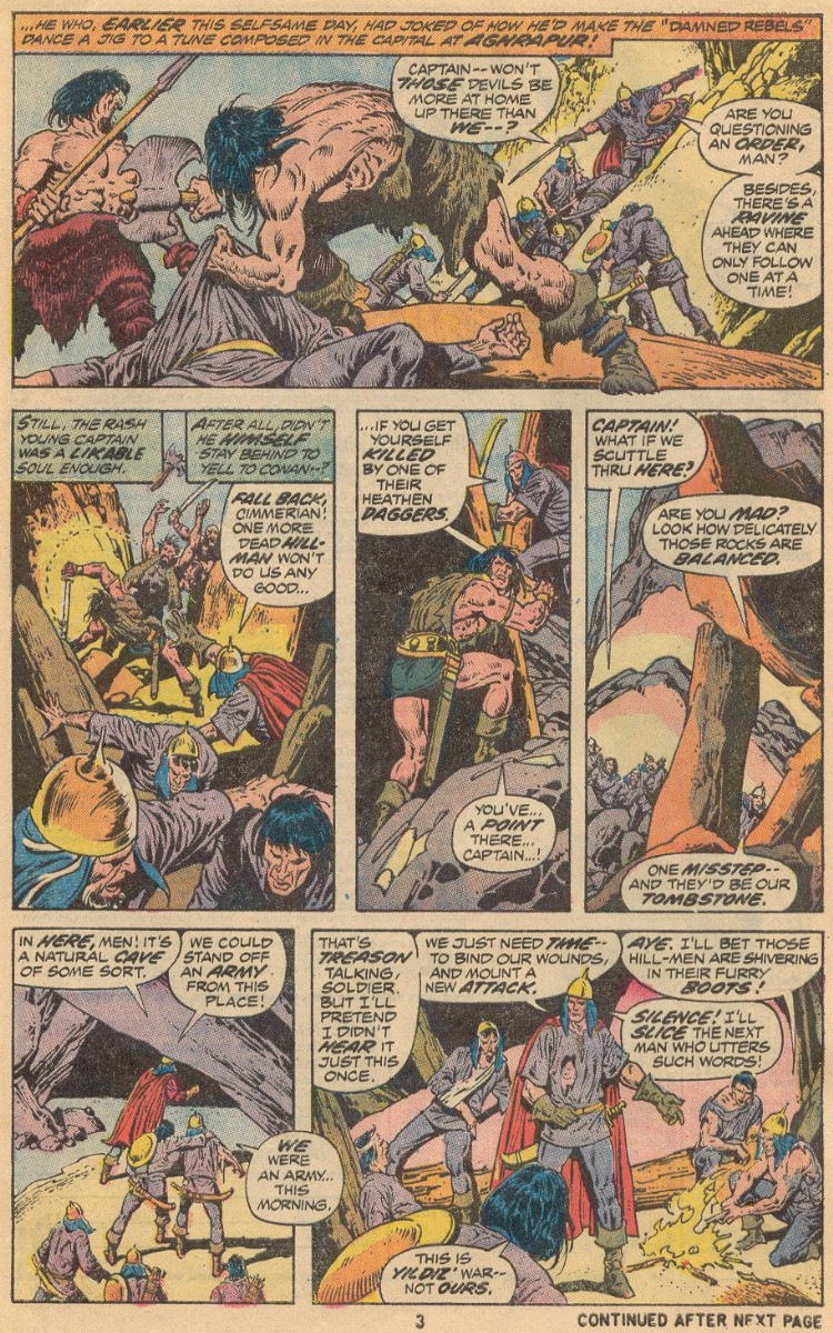 Conan the Barbarian (1970) 31 Page 3