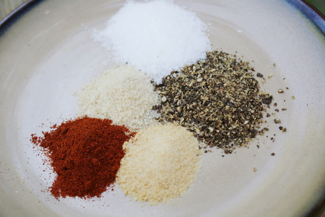 Basic Dry Rub ~ Good for pork, beef or chicken