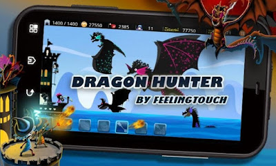 Challenge this tower defense game from Feelingtouch Inc Dragon Hunter Mod Apk [Unlimited Money] Latest For Android