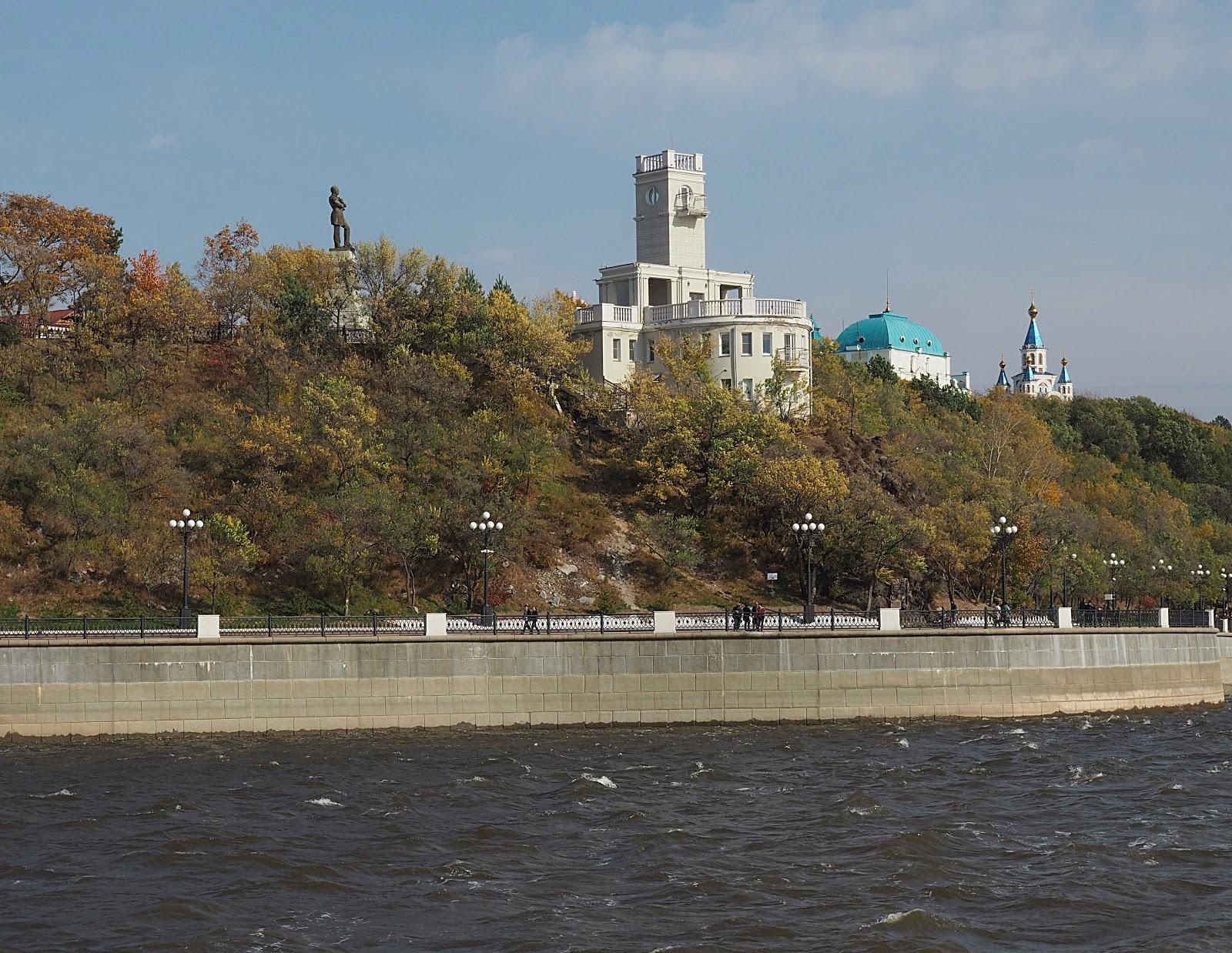 Левый берег хабаровск фото правильно