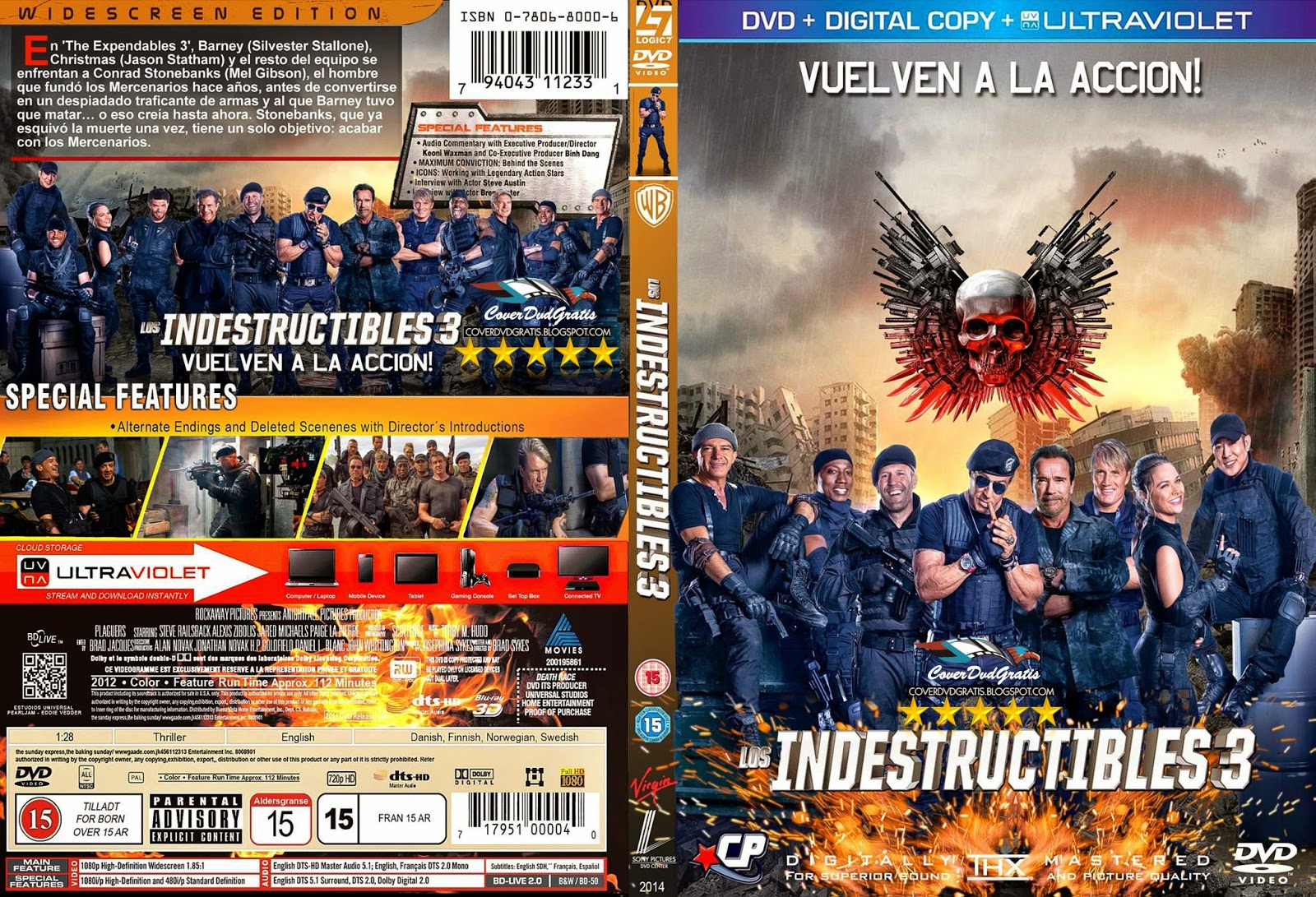 The Expendables 3 DVD Region 2 English audio Amazon