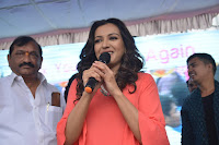 Catherine Tresa in Orange Kurti top and Plazzo at Launches B New MobileStore at Kurnool 10.08.2017 032.JPG