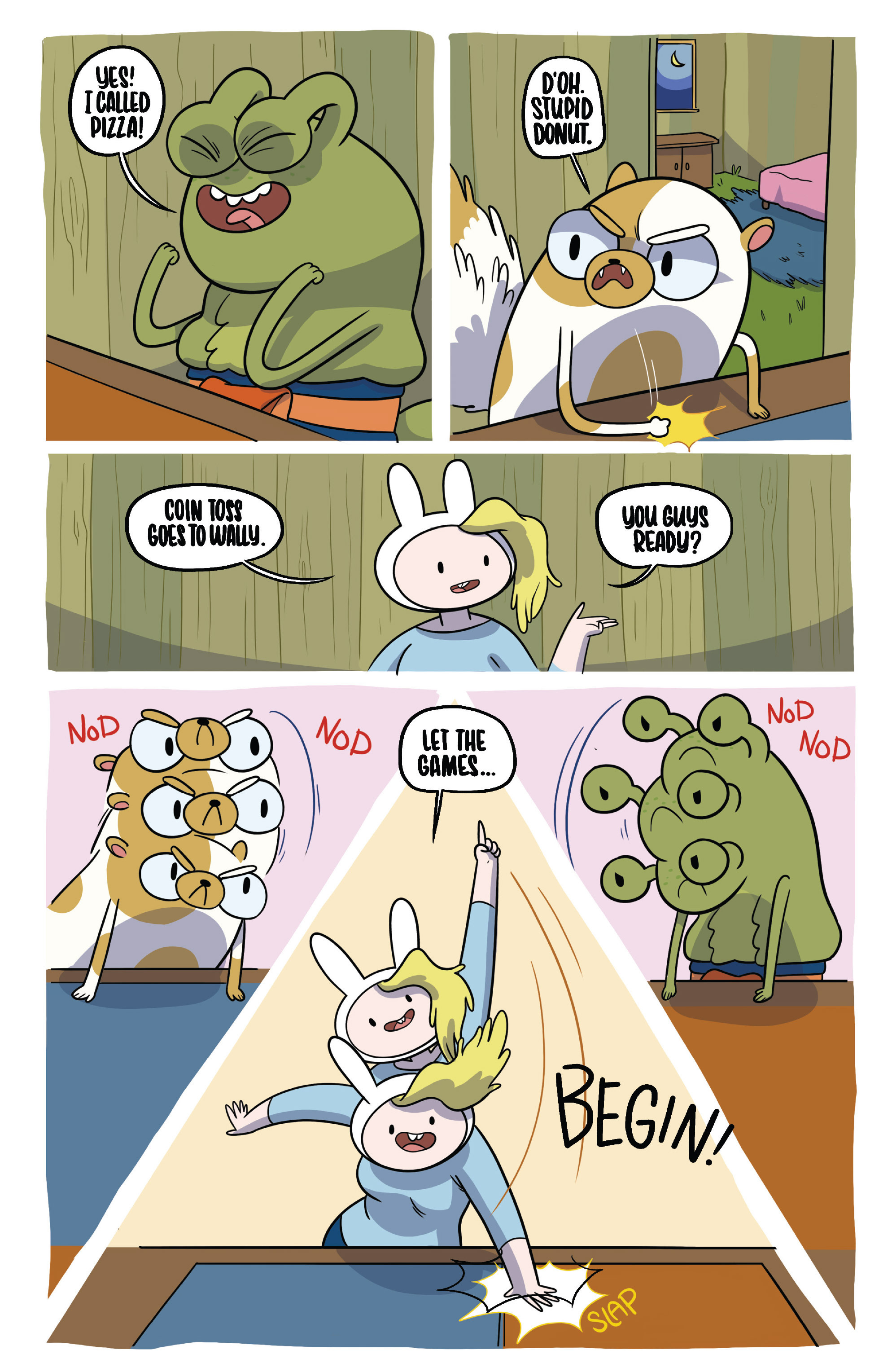 Read online Adventure Time Fionna and Cake Card Wars comic -  Issue #2 - 12