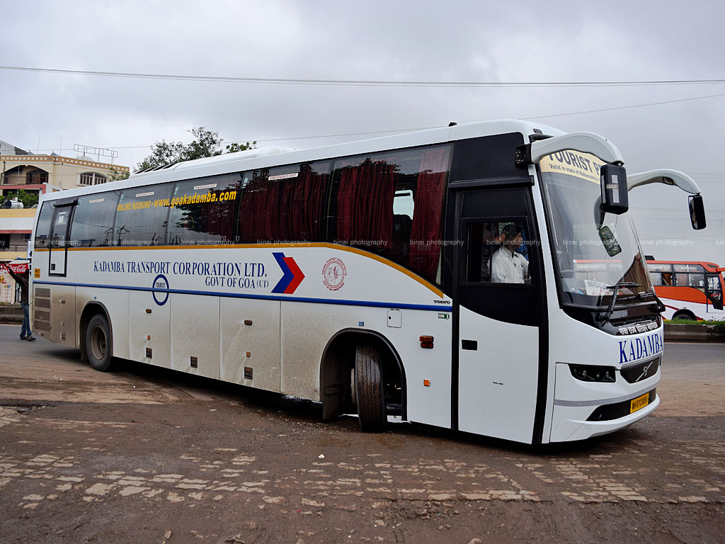 The return from Shirdi: Kadamba Volvo!