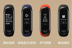 Leaked promotional images show off the Mi Band 3 in all its glory