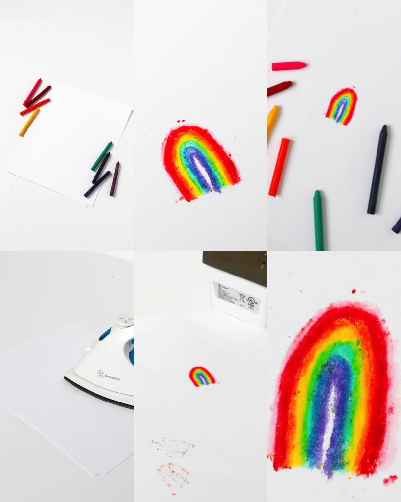 This crayon art activity looks so fun and easy!
