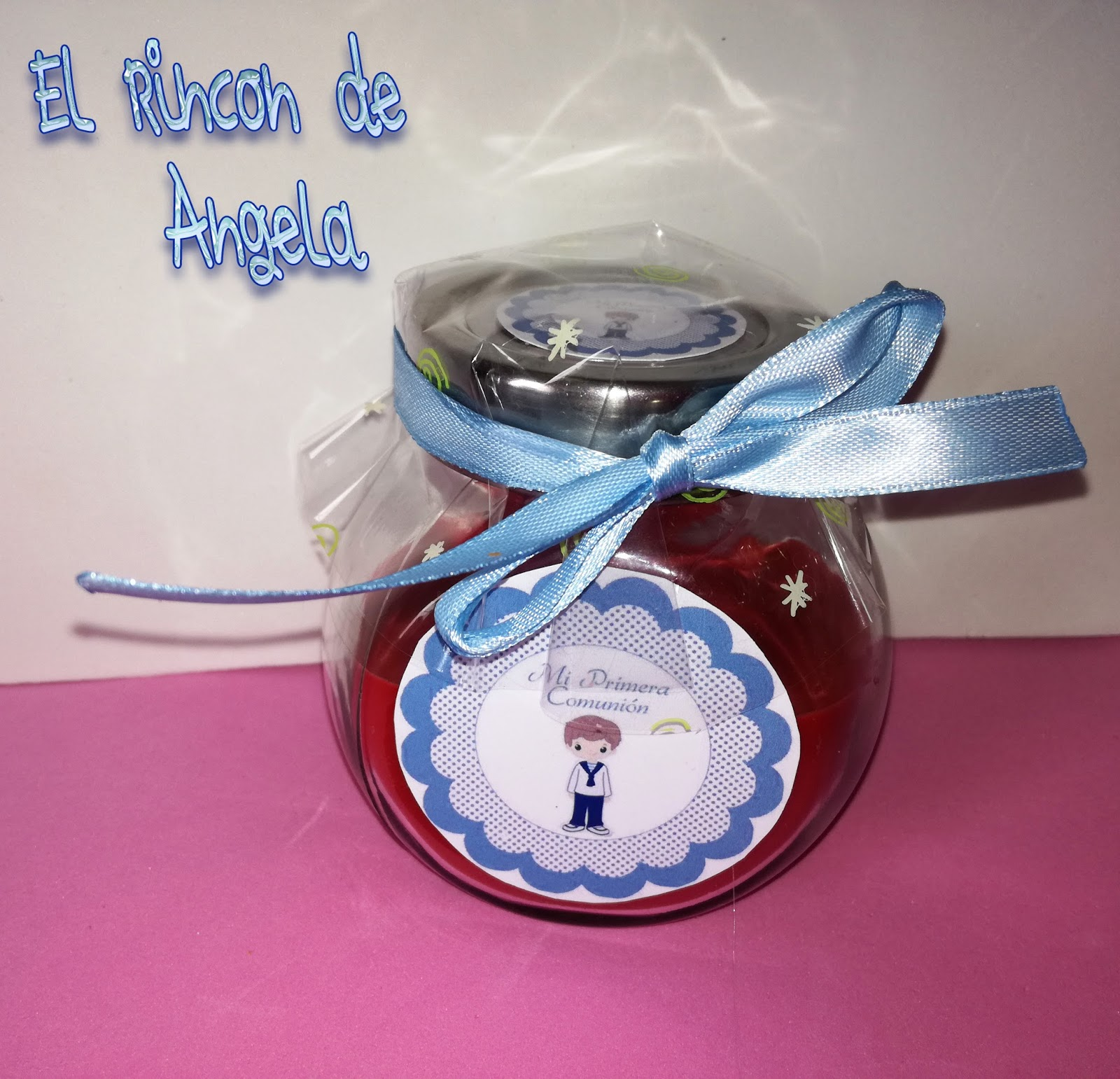 Detalles y regalos para primera comuni n hechos por ti - Detalles de comunion para hacer en casa ...